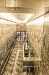 NEW YORK CITY - MAY 20, 2013: Interior of Empire State Building.
