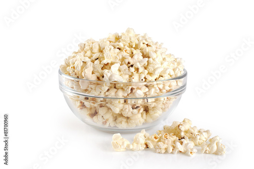 canvas print picture Bowl of popcorn