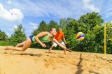 dynamischer Einsatz beim Beachen
