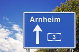 Wegweiser A3, Richtung Arnheim