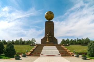 Monument of Independence in Tashkent, Uzbekistan