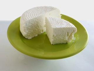 white cottage cheese
