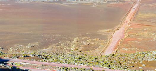 Plaine des Sables, paysage lunaire, volcan, Réunion