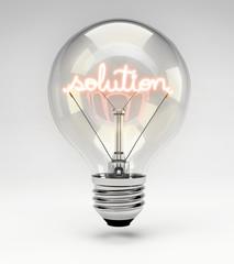 Lightbulb - Solution Concept (Set)