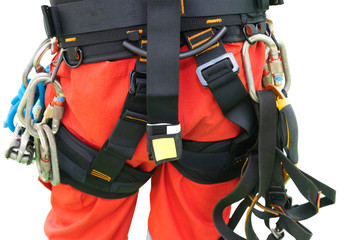 rope access equipment for inspector