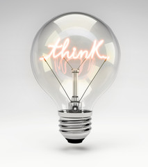 Lightbulb - Think Concept (Set)