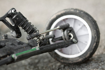 remote control car repaire