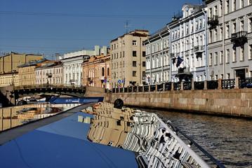 San Pietroburgo, navigazione