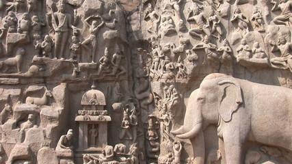 The Pancha Rathas temple complex