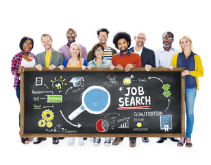 Ethnicity People Job Search Searching Togetherness Concept