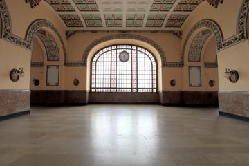 Interior of Haydarpasa Train Station