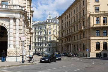 Улица в Вене. Австрия