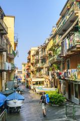 morgendliche Ruhe in Riomaggiore