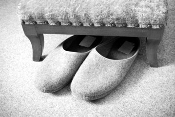 slippers nursing home