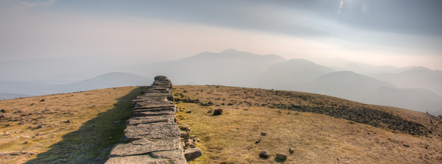 Panorama Mourne Mountains (Irland)