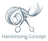 Hairdressers Scissors Concept - 81711561