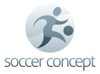 Soccer Sports Concept