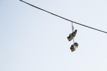 Shoefiti a Roma