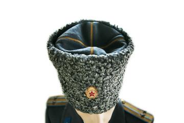 soviet army officer in uniform