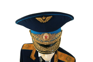 soviet army officer marshal in uniform