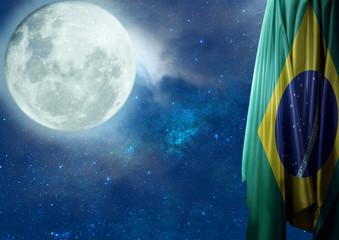 Bandeira do Brasil Céu Estrelado