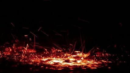 Fire Color Water Splash