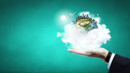 Our planet in our hands