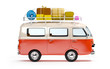 travel van with luggage - 81715592
