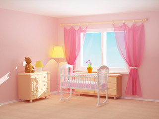 baby room cradle