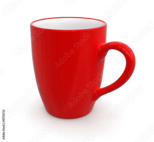 canvas print picture Cup (clipping path included)