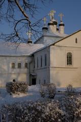 Church in the winter.