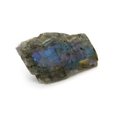 Natural rare rough labradorite stone