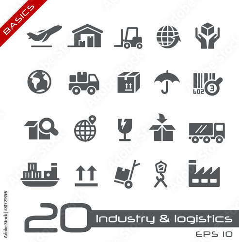 Industry and Logistics -- Basics - 81721396