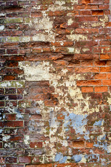 Old grunge briack wall textured
