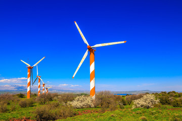 The modern windmills