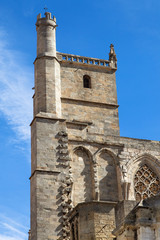 North tower of Narbonne Cathedral
