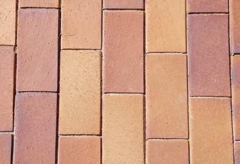 Brown ceramic tiles on street