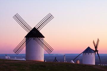 Wind mills at Campo de Criptana