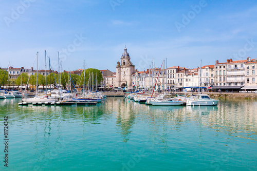 Plexiglas Stad aan het water Port de la Rochelle