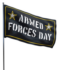 Armed Forces Day USA Flag