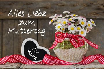 Gänseblümchen für Mama,  Alles Liebe zum Muttertag