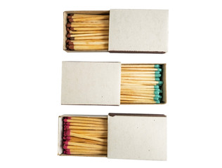 matches in box