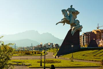 Vladikavkaz city, Ossetia