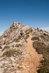 steep path up a mountain