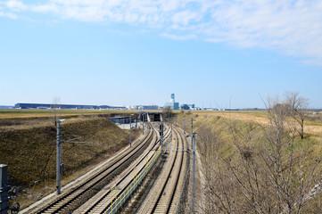 Bahnstrecke zum Flughafen