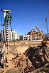 Construction site,Vilnius