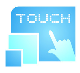 Touch sign