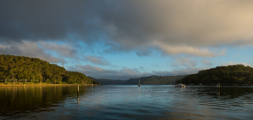 Sunrise from Hawsbury river, NSW