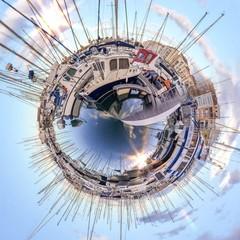 Abstraction d'un port de plaisance