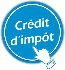 bouton crédit d'impôt